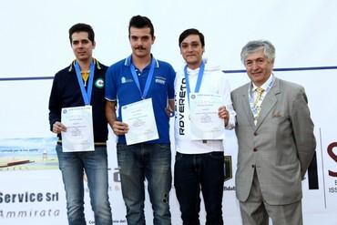 C.I. 2016 Samuele Pollastro secondo classificato C10 Uomini gruppo A