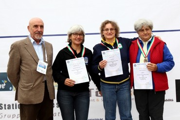 C.I. 2016 Paola Maucci Campionessa Italiana P10 Master Donne