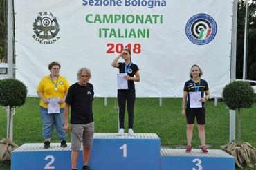 C.I. 2018 Loredana Firemi seconda classificata P10 Donne gruppo A