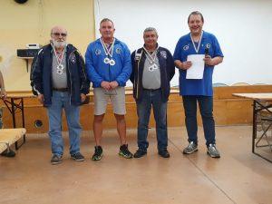 Podio Donald Malson O - Camp. Italiano Caruso, argento Di Mare, bronzo Ferrari